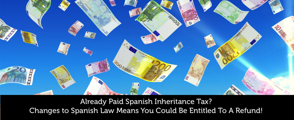 Spanish Inheritance Tax Reclaim
