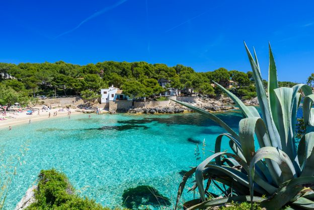 Cala Gat at Ratjada, Mallorca - beautiful beach and coast