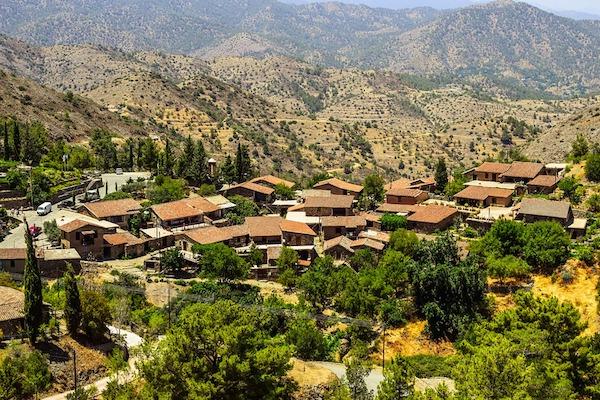 Cyprus Village Medieval World Heritage Fikardou