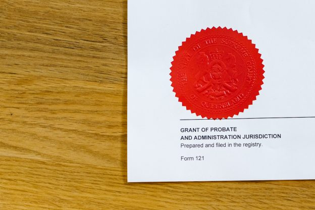 reseal austalian probate seal