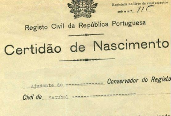 need a portuguese birth certificate